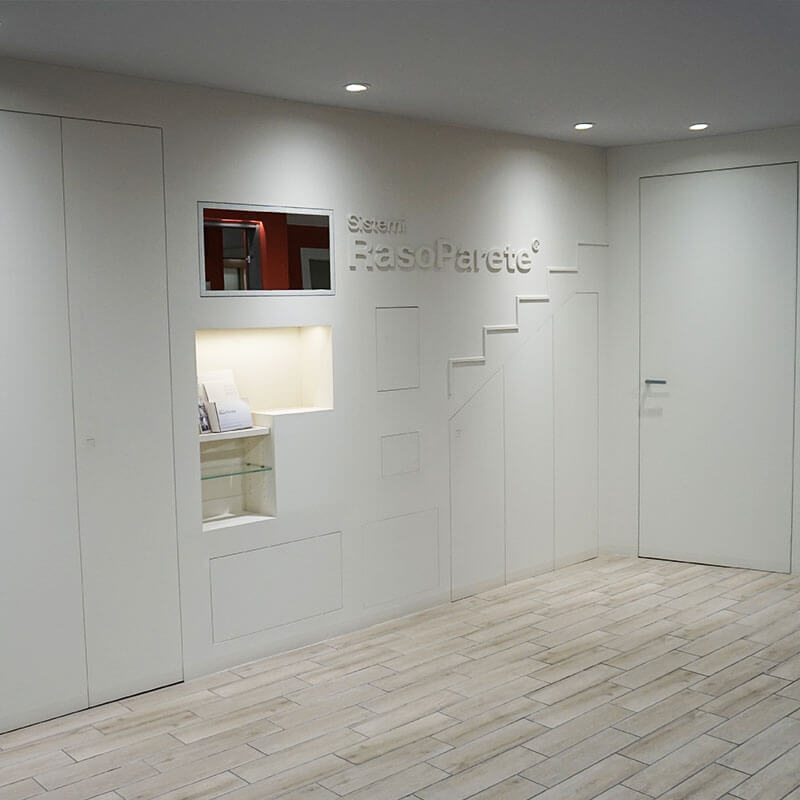 foto dello showroom sealvetro